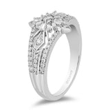 Elsa Snowflake Ring with 1/2 cttw Diamonds