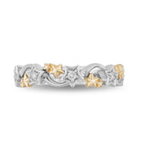 Tinker Bell Shoot Star Band with 1/10 CTTW Diamonds