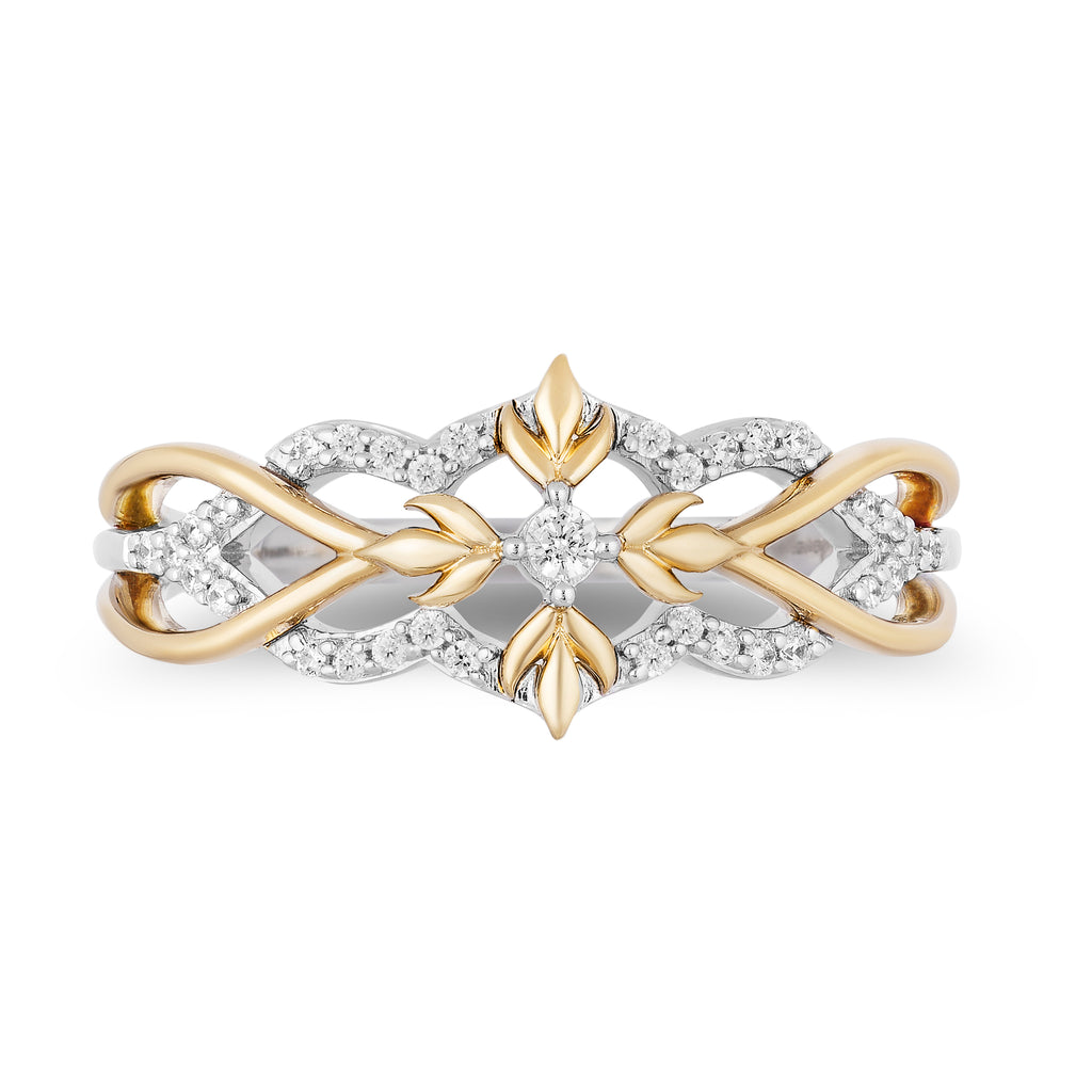 Anna Fashion Ring With 1/6 Cttw Diamonds