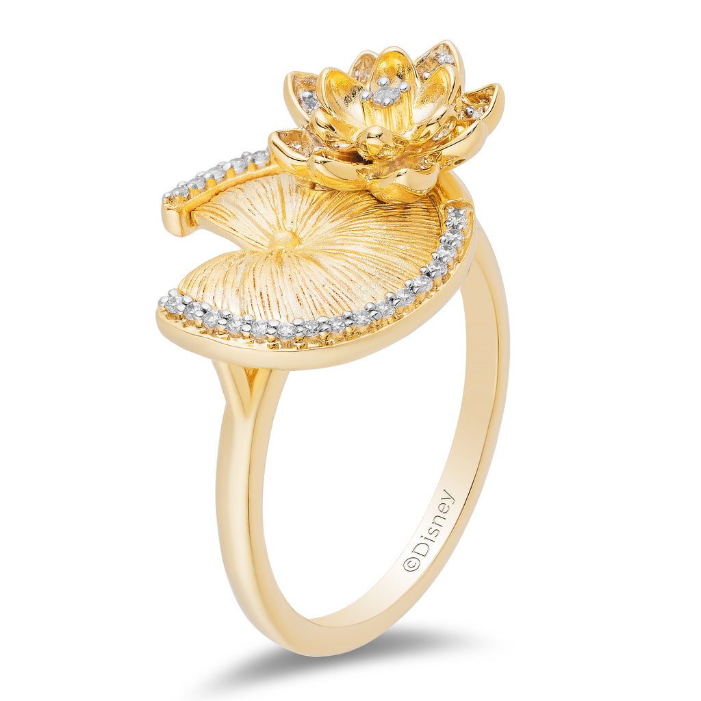 Tiana Fashion Ring with 1/8 CTTW Diamonds