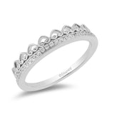 Majestic Pricess Tiara Rings with 1/10 cttw Diamonds