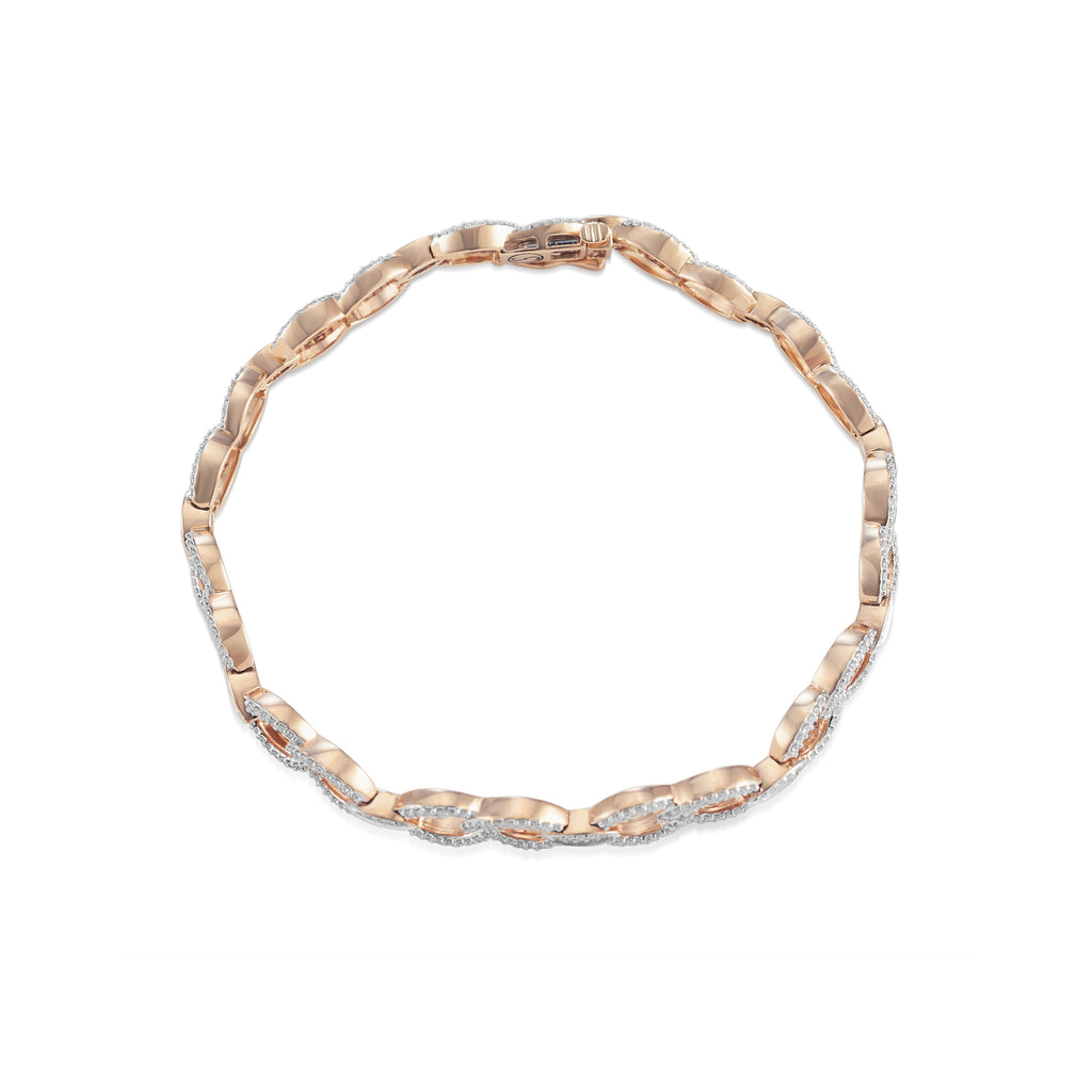 Linked Diamond Bracelet