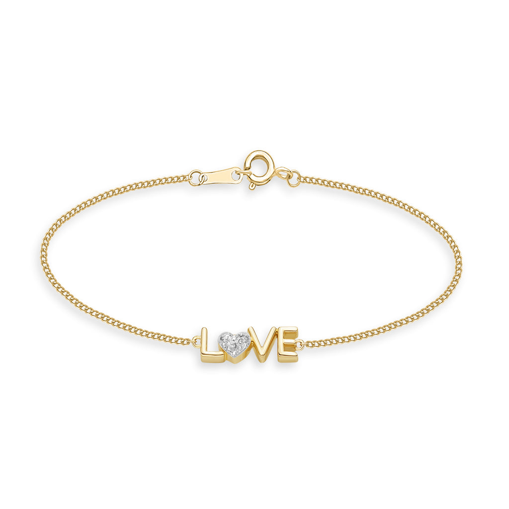 LOVE Diamond Bracelet*