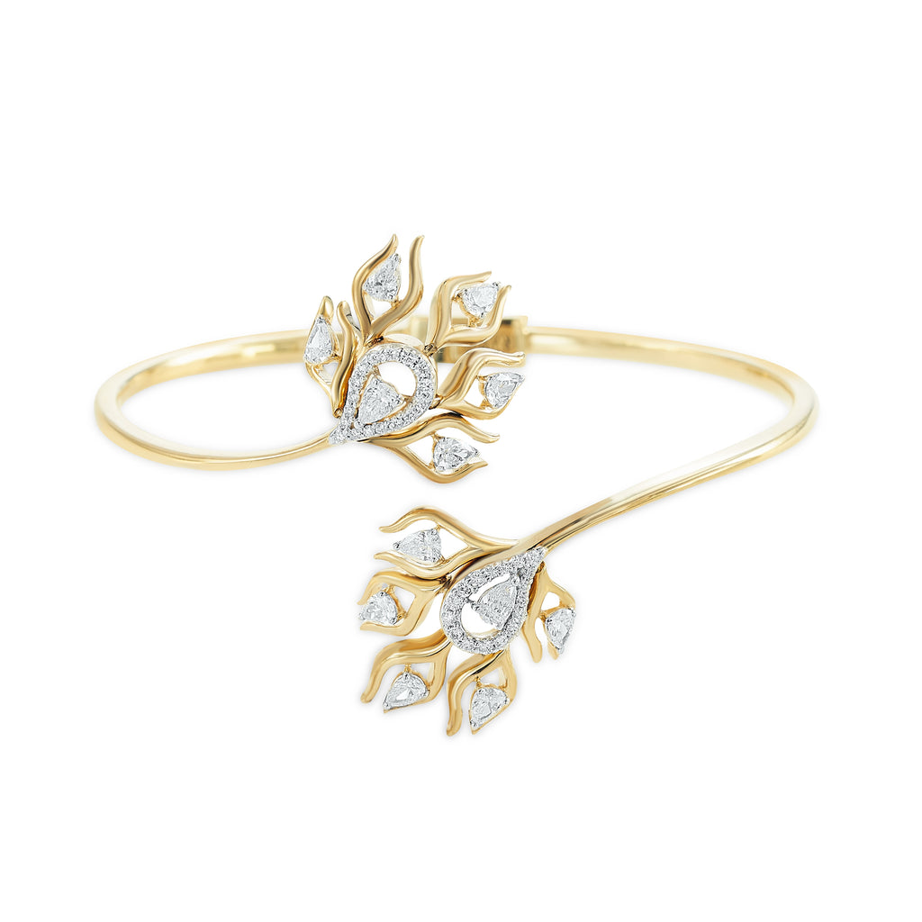 Skyward bound Indaliai Diamond Bangle*