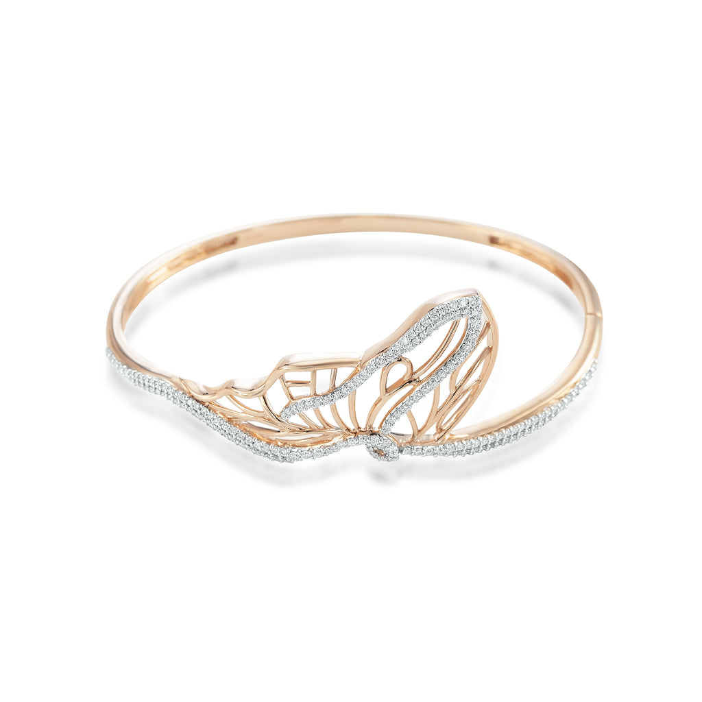 Skyward Bound Aloft Diamond Bangle