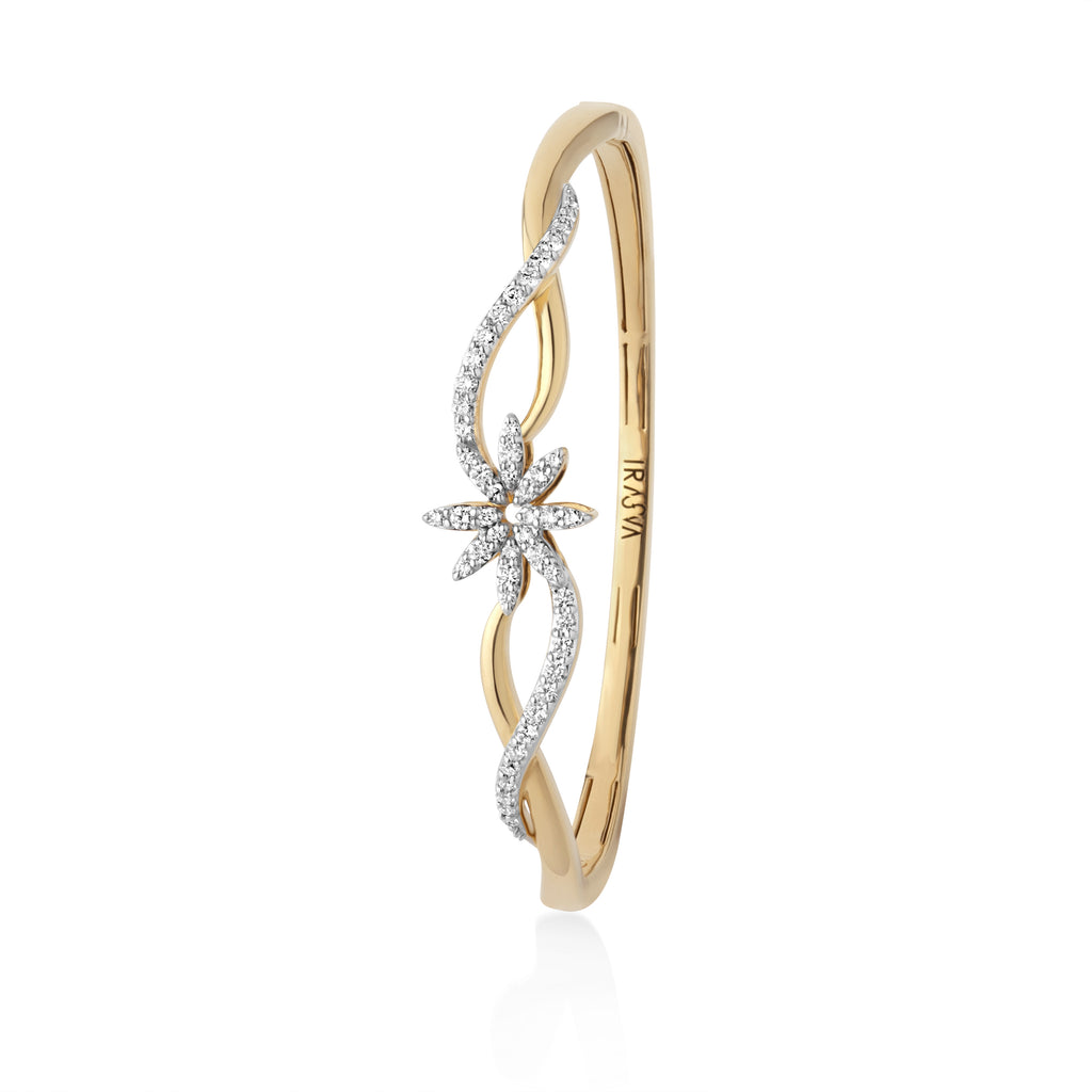 Blossom Diamond Bangle