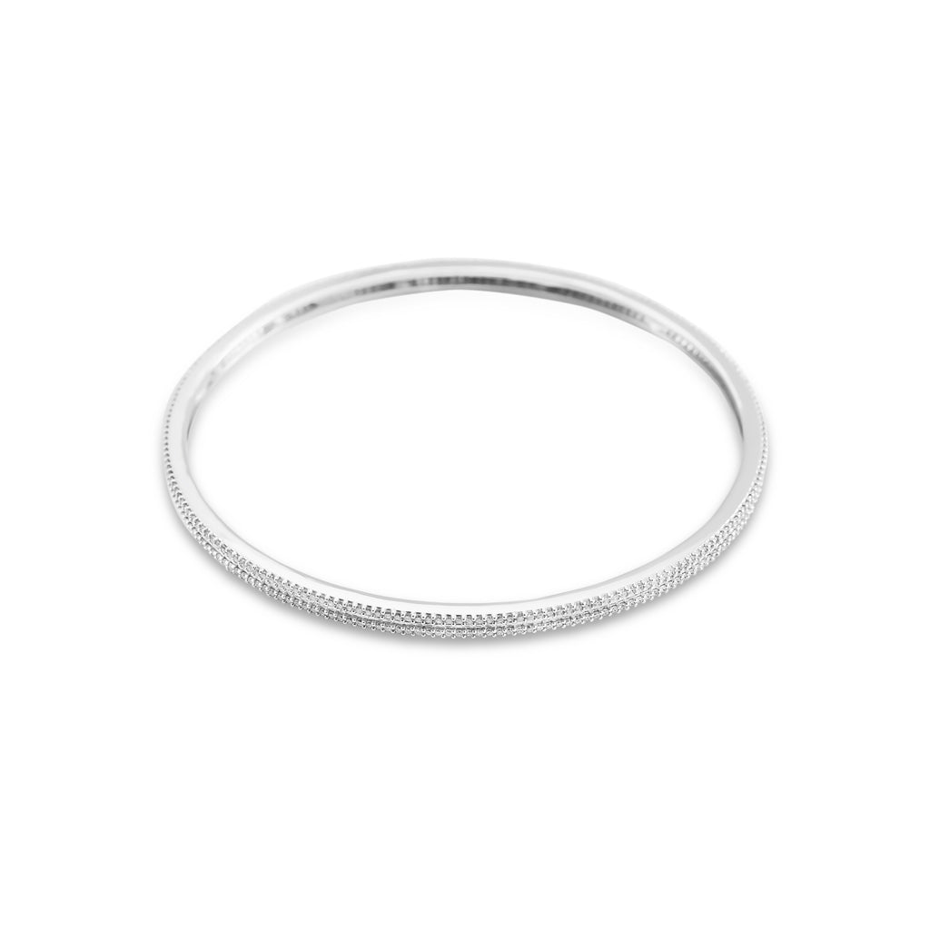 Sage Diamond Bangle*