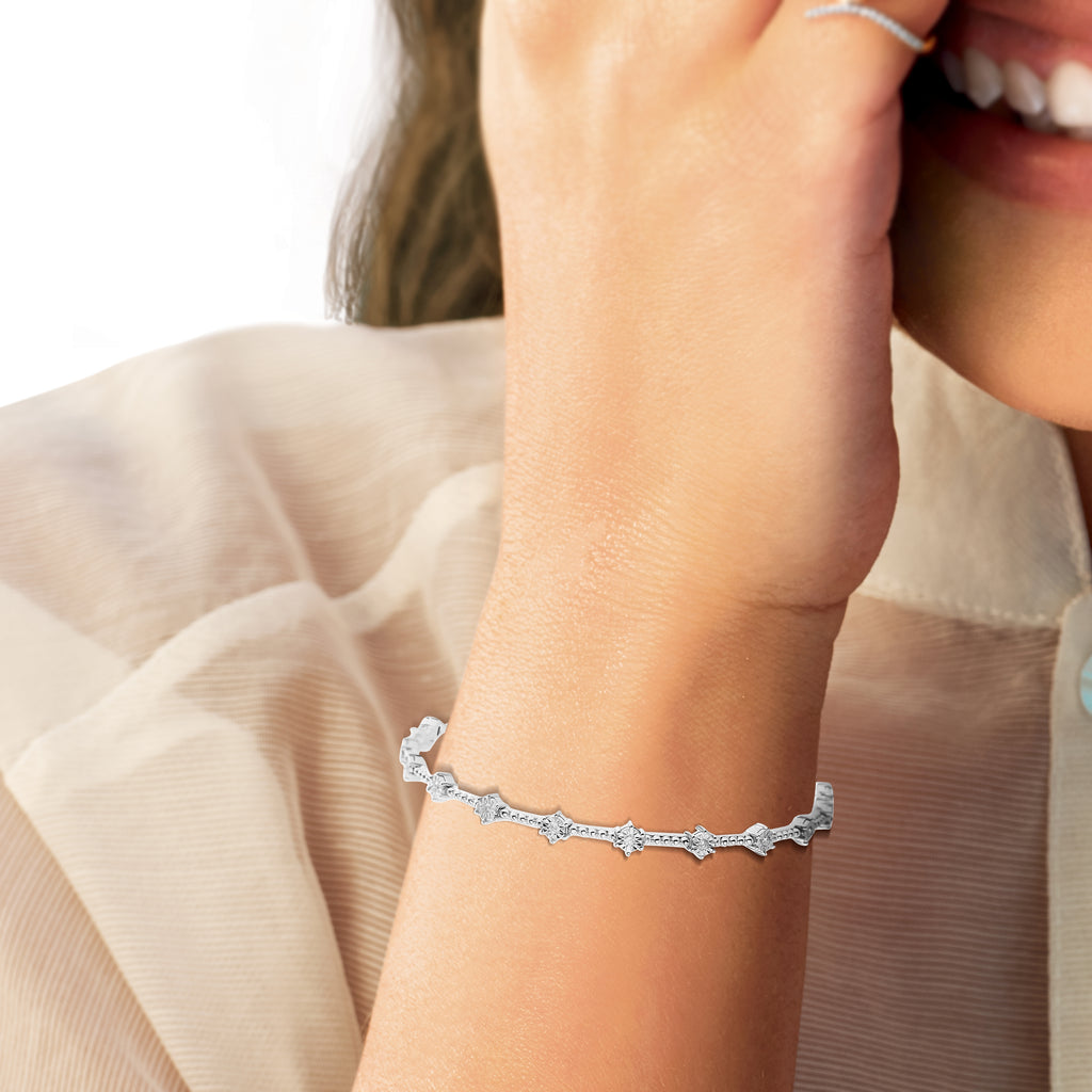 Seraphina Diamond Bangle*