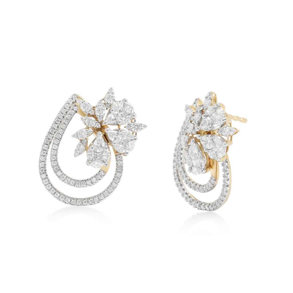 Garlanda Diamond Earrings