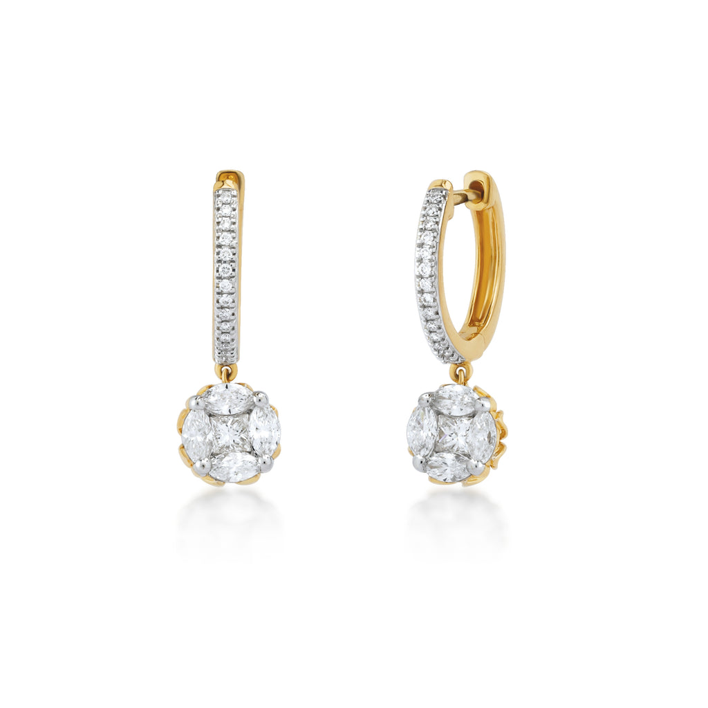 Descara Diamond Earrings