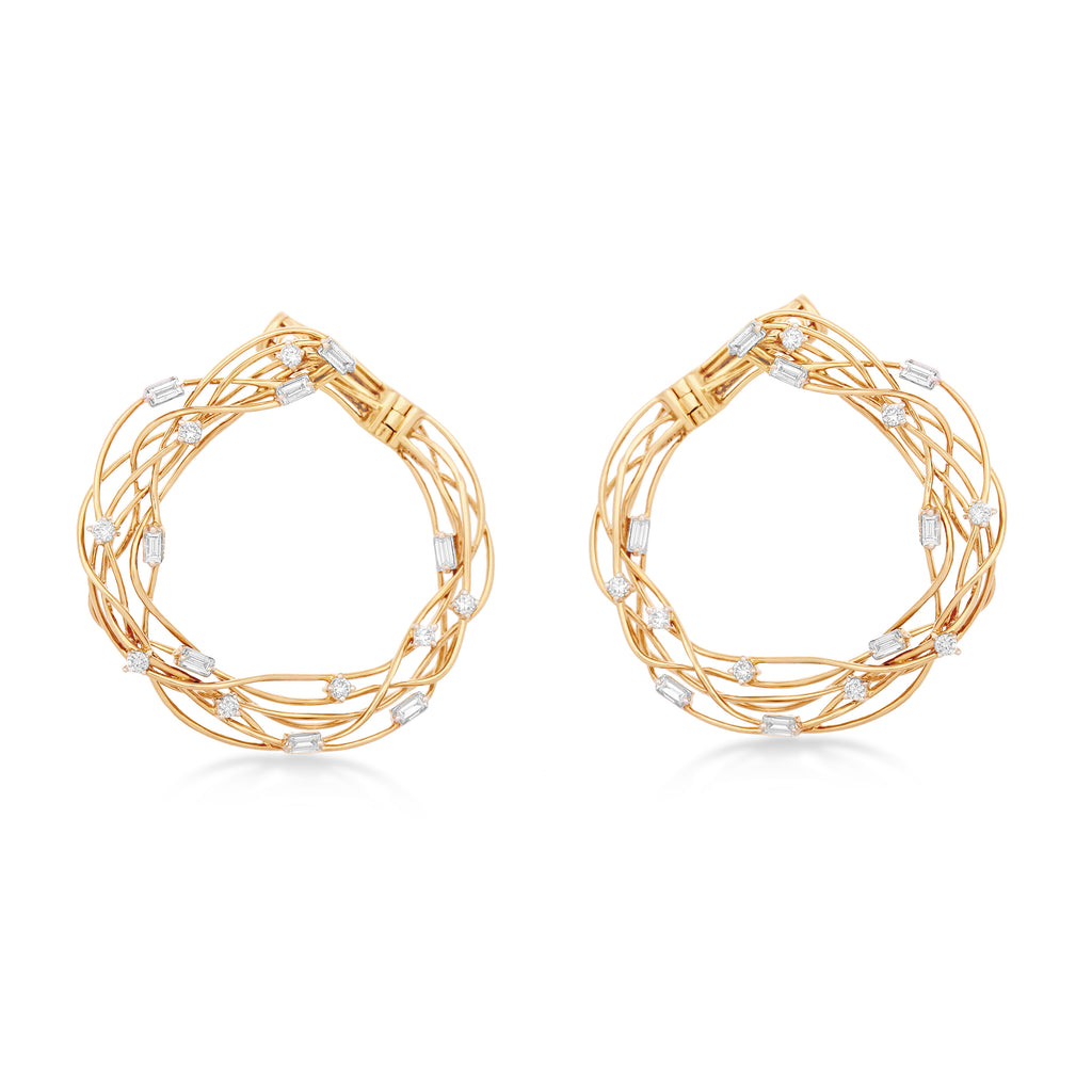 Starring You Stringed Diamond Earrings*
