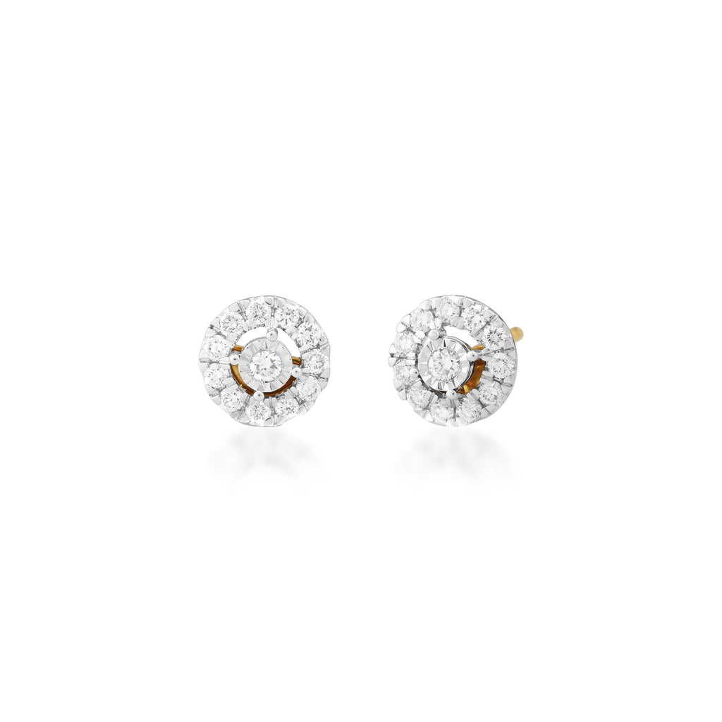 Pointe Diamond Earrings