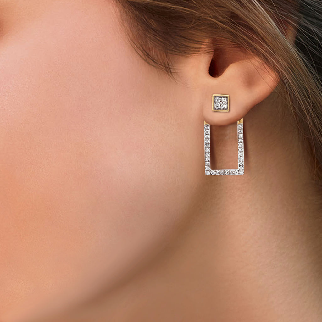 Chime Diamond Earrings