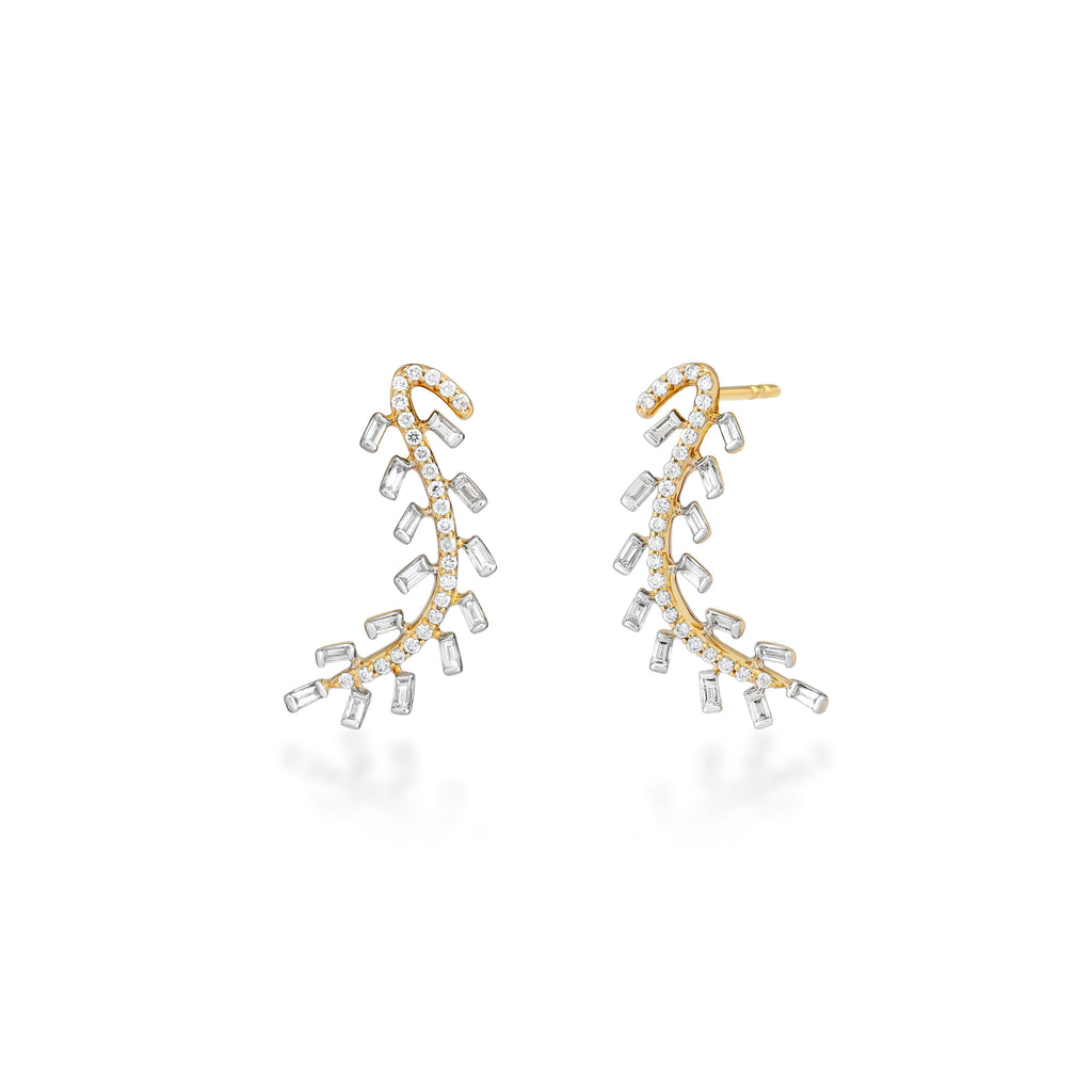 Scatter Waltz Convoy Diamond Earrings
