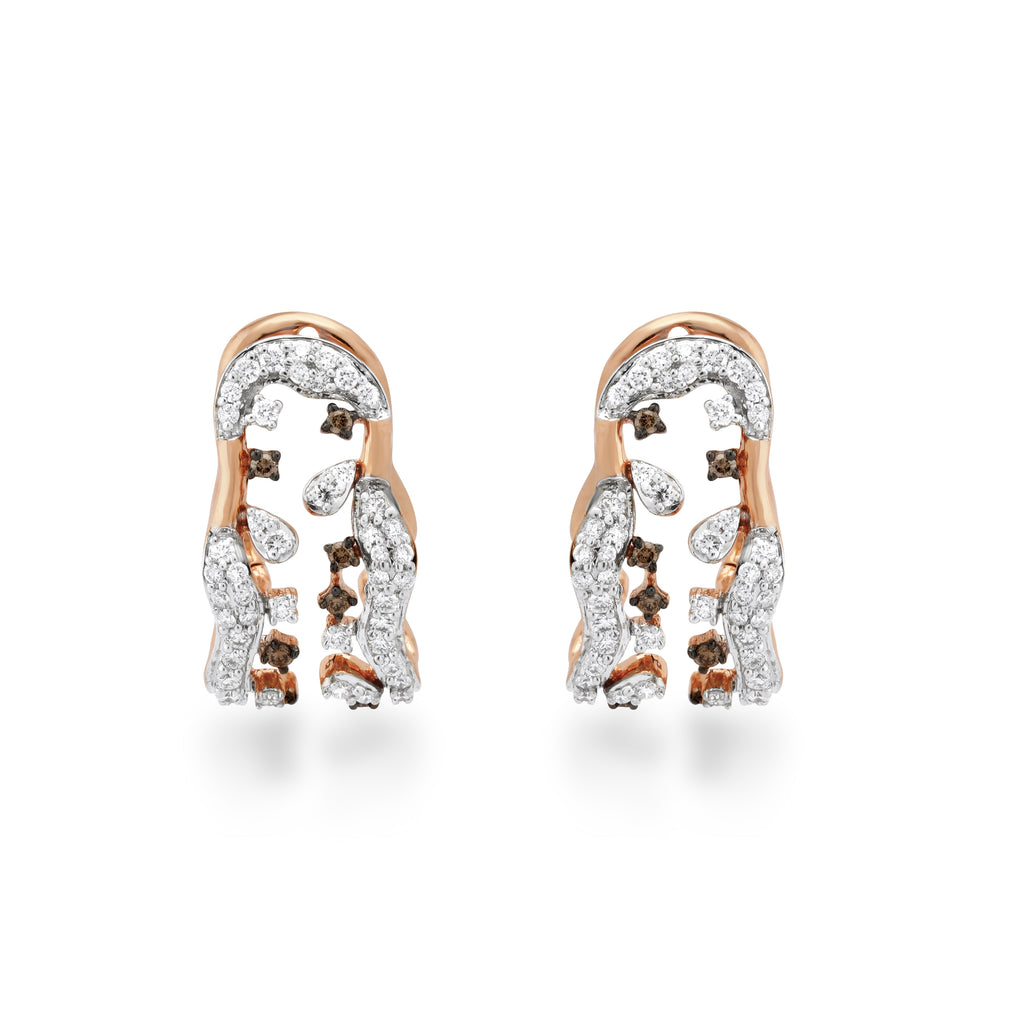 Scatter Waltz Renaissance Diamond Earrings