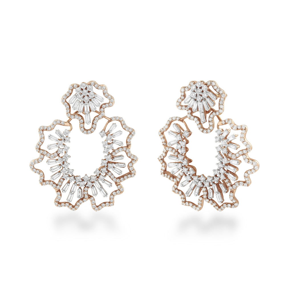Scatter Waltz Nearidei Diamond Earrings*