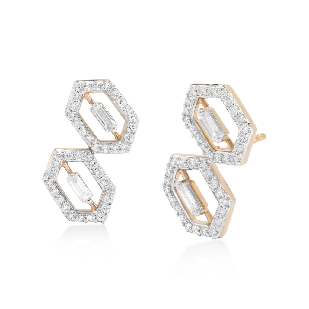 Regalia Two Kingdoms Diamond Earrings
