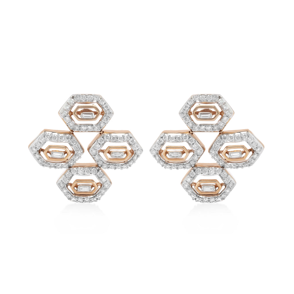 Regalia Four Knights Diamond Earrings