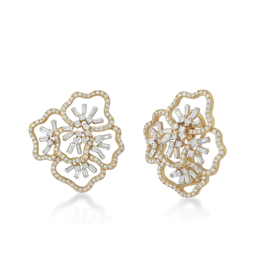 Scatter Waltz Bloom Diamond Earrings