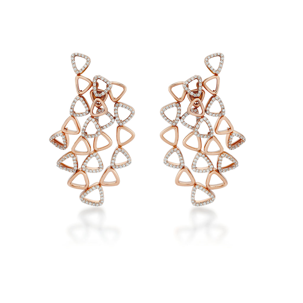Elements Organic Diamond Earrings