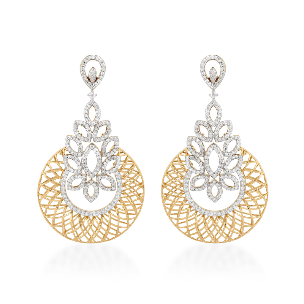 Starring You Shimera Diamond Earrings