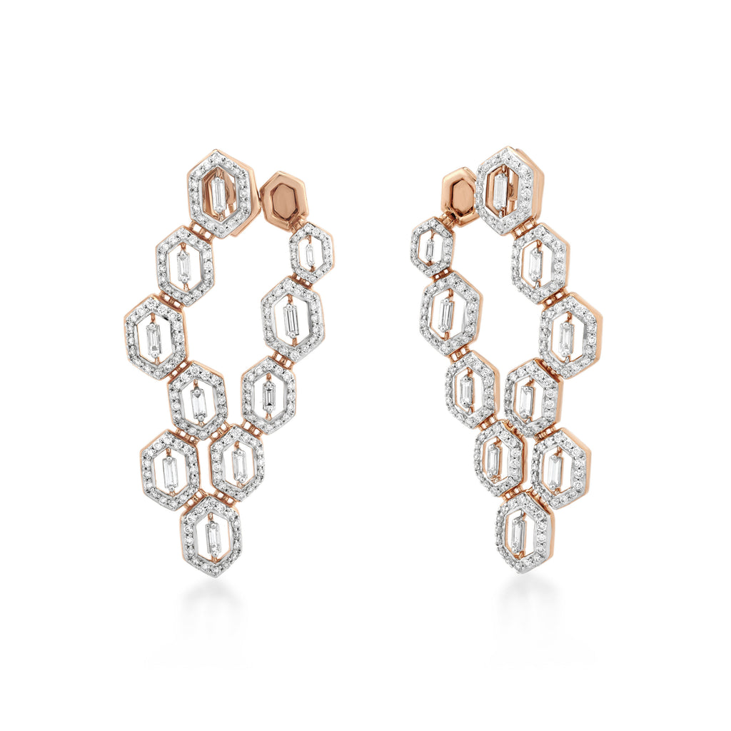Regalia Dynast Diamond Earrings