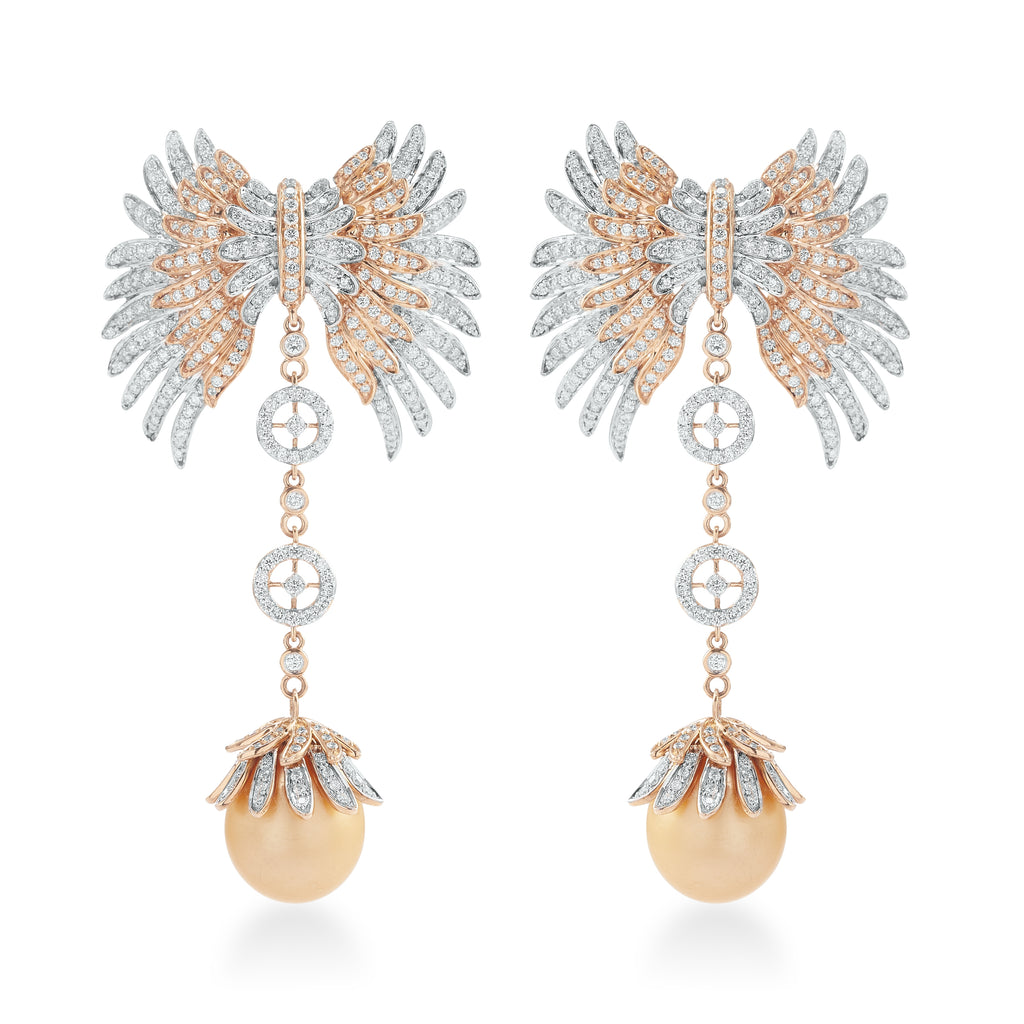 Skyward bound Altaira  Diamond Earrings*