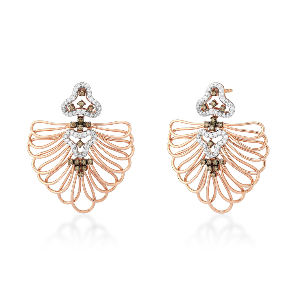 Starring You Twined Diamond Earrings