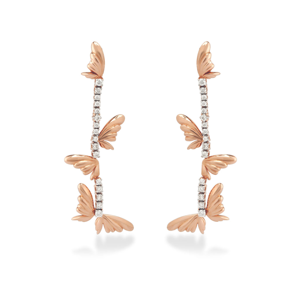 Skyward Bound Metamorph Diamond Earrings