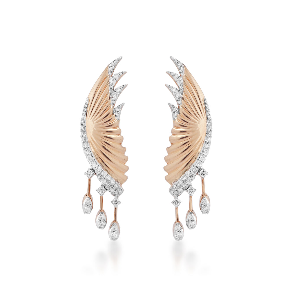 Skyward Bound Swift Diamond Earrings
