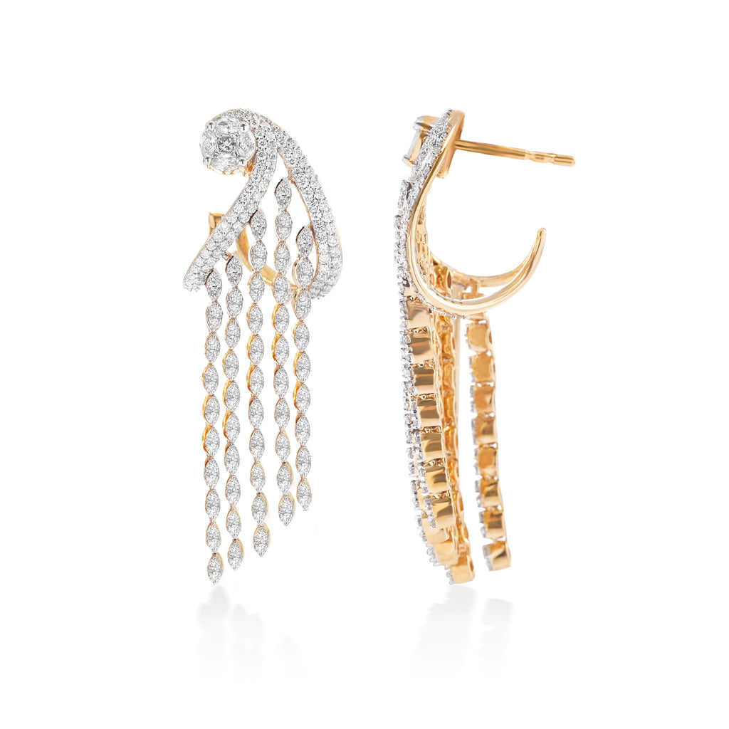 Freeflowing Assana Diamond Earrings*