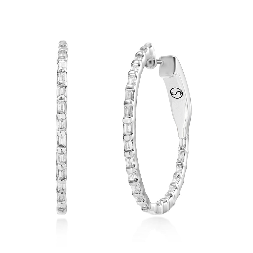 Circled Arcelia Diamond Earrings*
