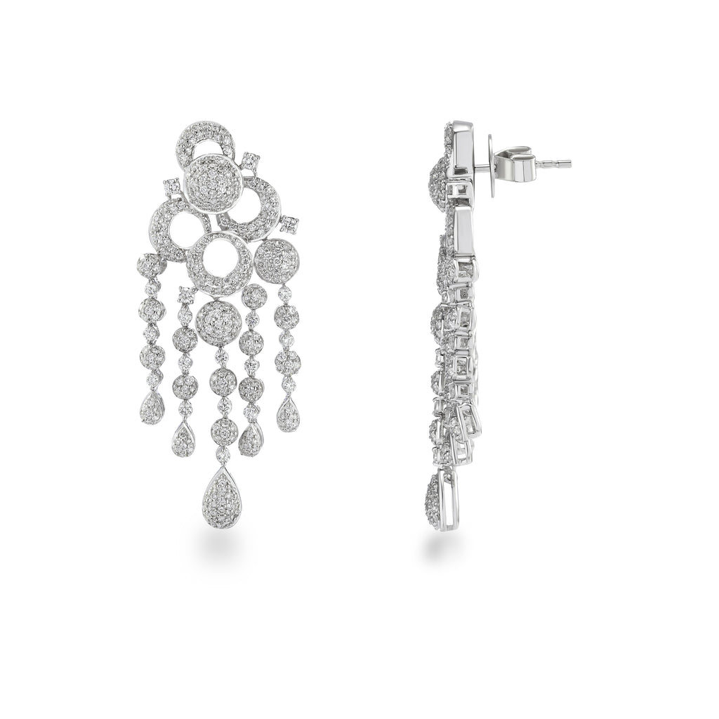 Freeflowing Ciana Diamond Earrings*