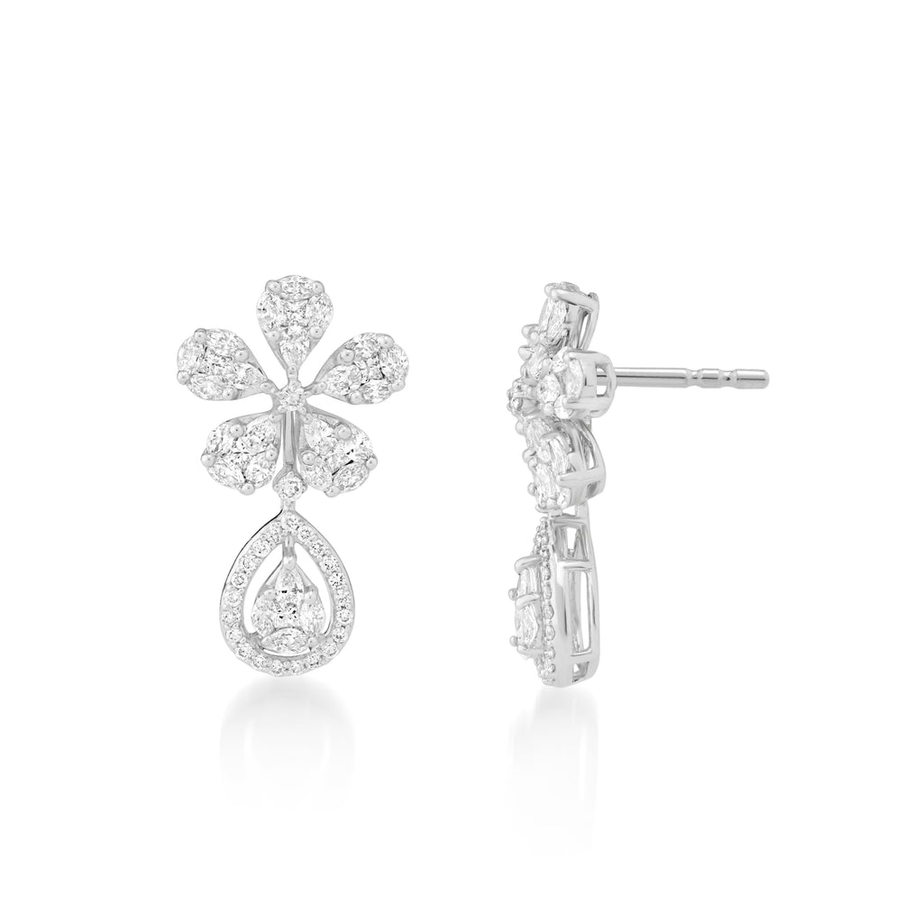 One Rhapsody Diamond Earrings