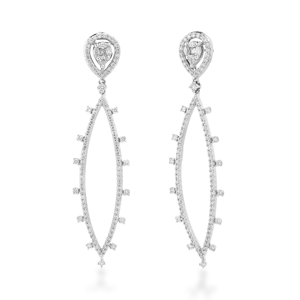 One Solitude Diamond Earrings