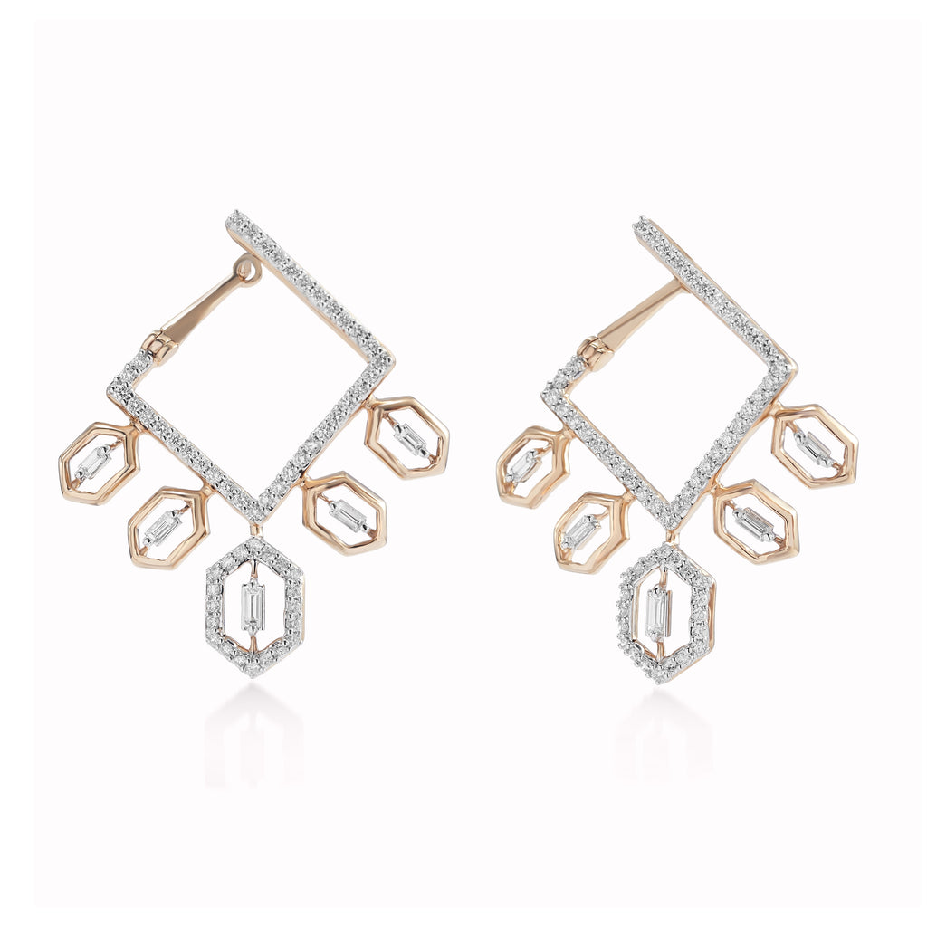 Regalia Makeda Diamond Earrings*