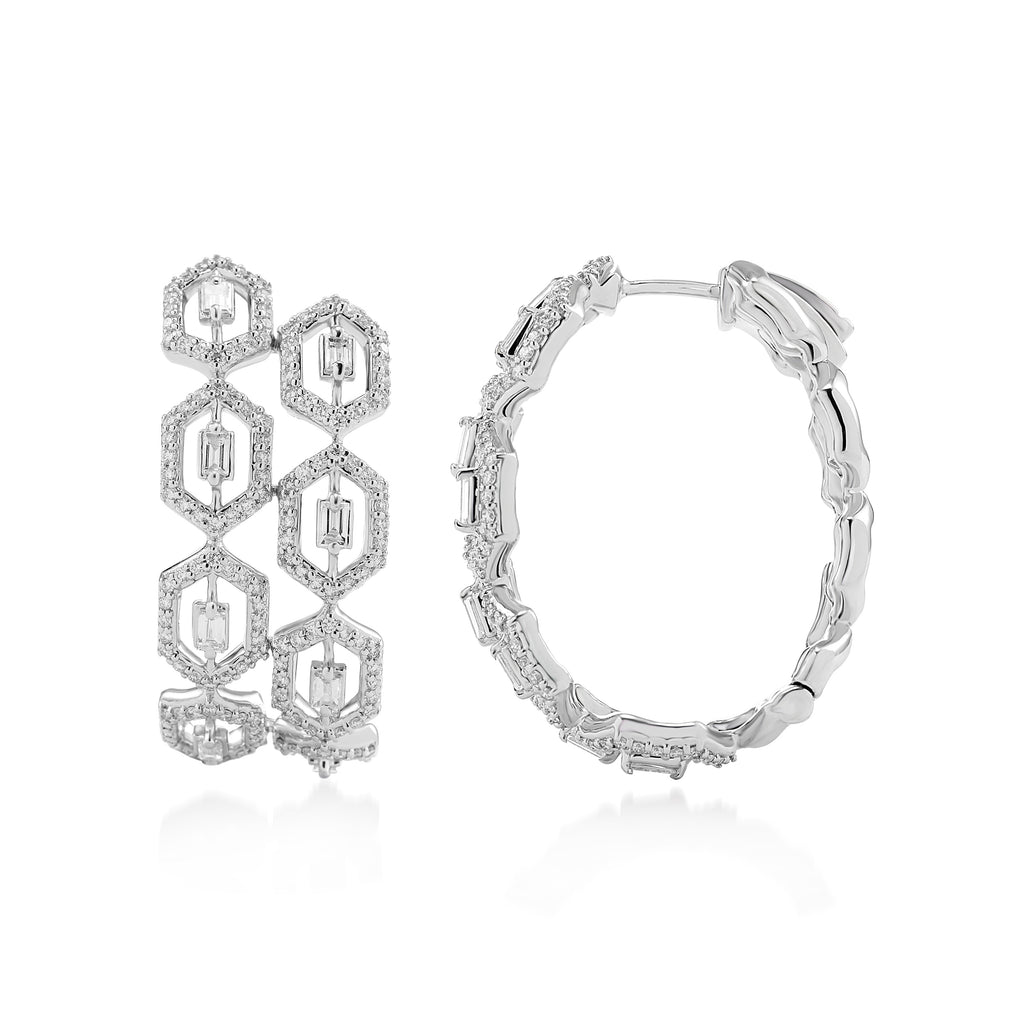 Regalia Alice Maude Diamond Earrings*