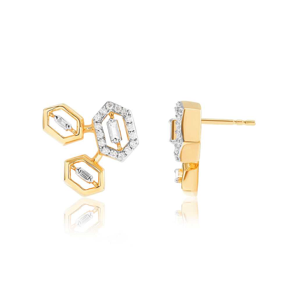 Regalia Caius Diamond Earrings*