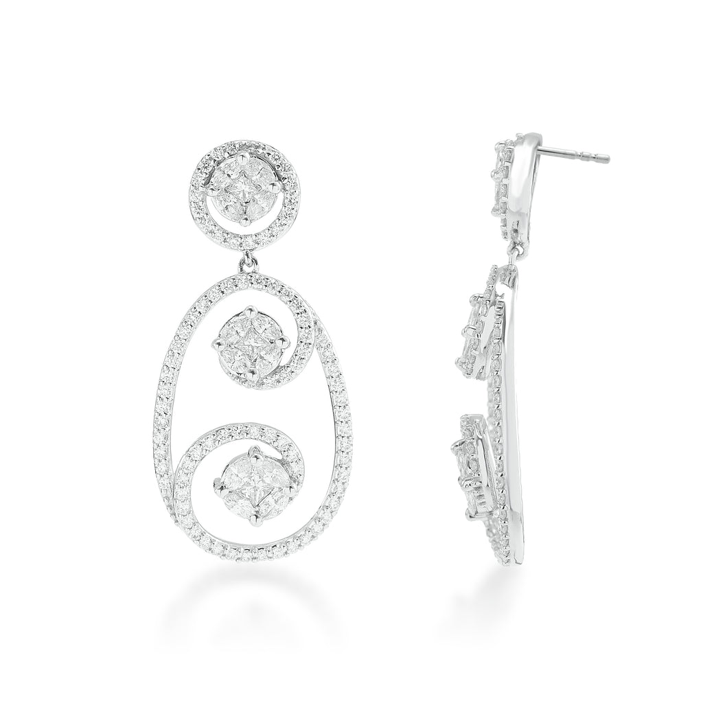One Buttercup Diamond Earrings*