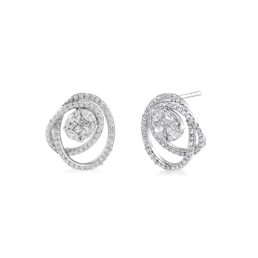One Carys Diamond Earrings*