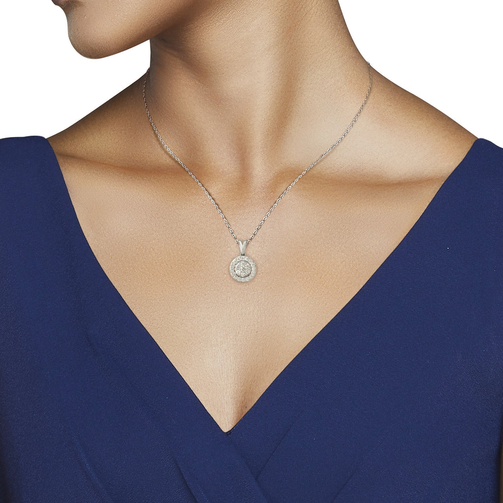 Aura Diamond Pendant