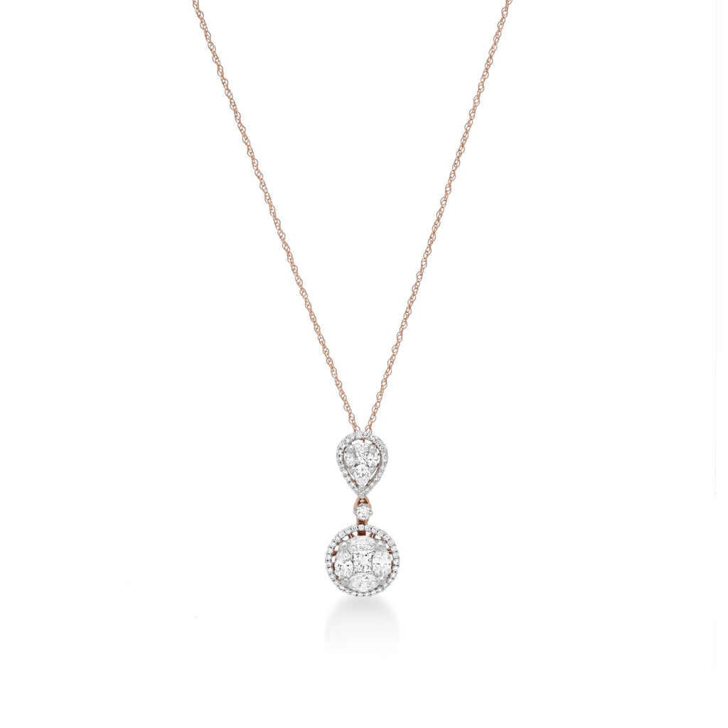 Heavensent Diamond Pendant