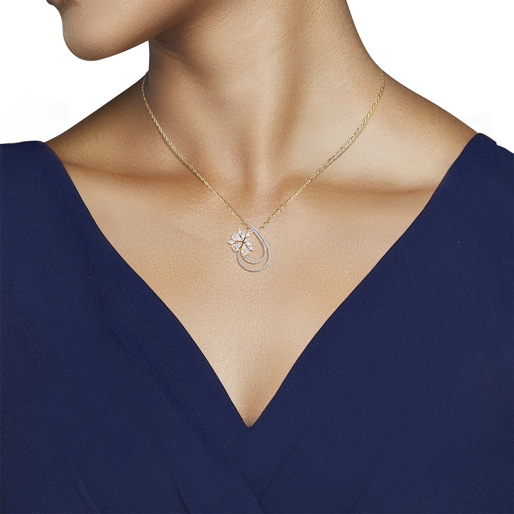 Garlanda Diamond Pendant