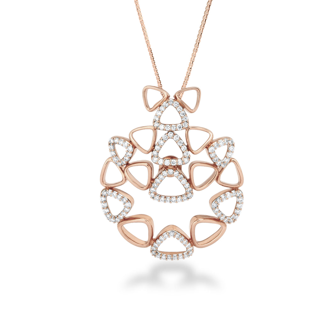 Elements Cluster Diamond Pendant