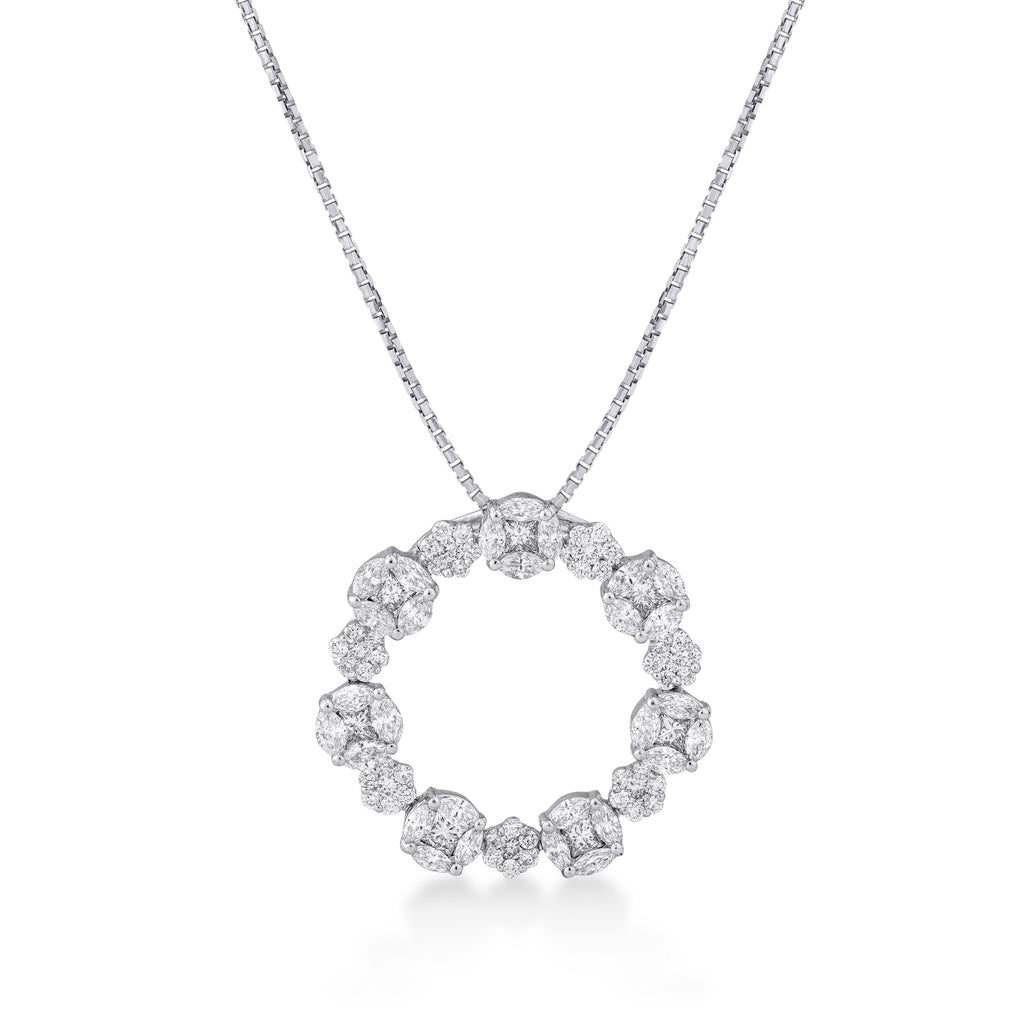 One Arantxa Diamond Pendant*