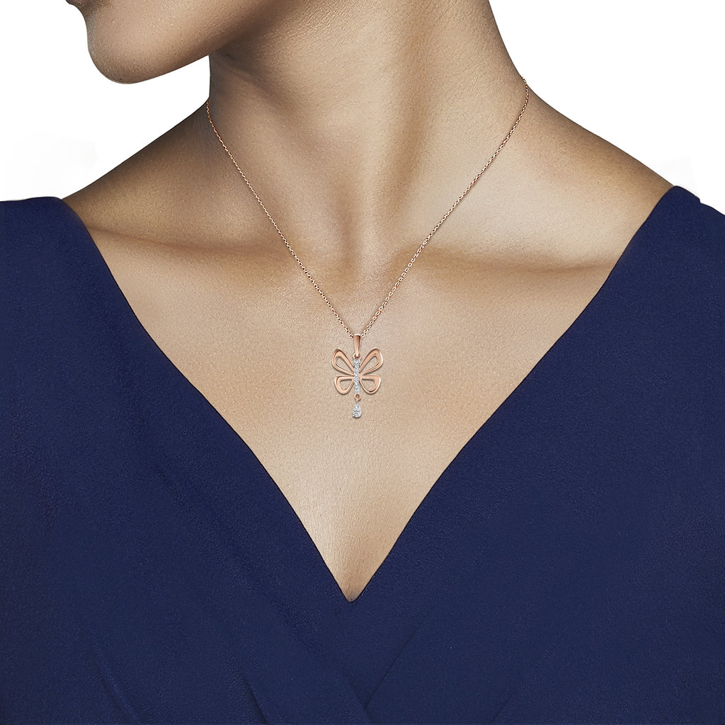 Aile Diamond Pendant