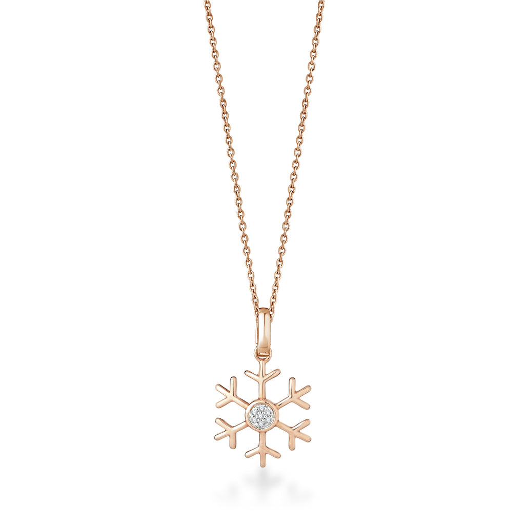 Fleck Diamond Pendant
