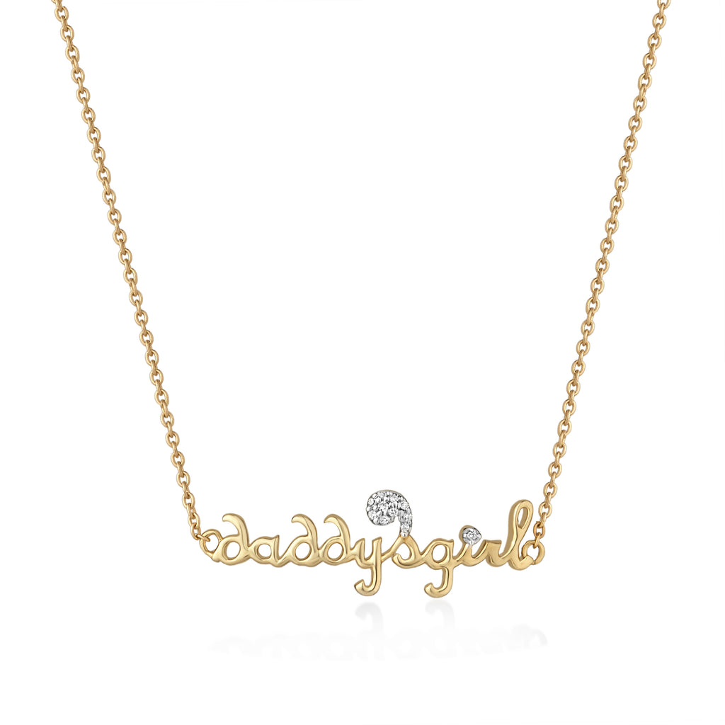 Daddy's Girl Diamond Pendant