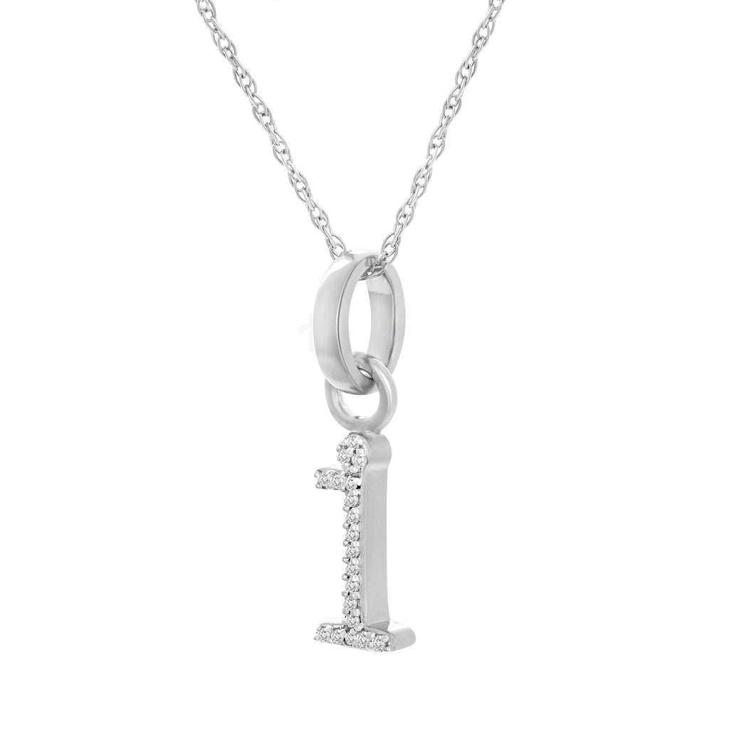 I Diamond Pendant