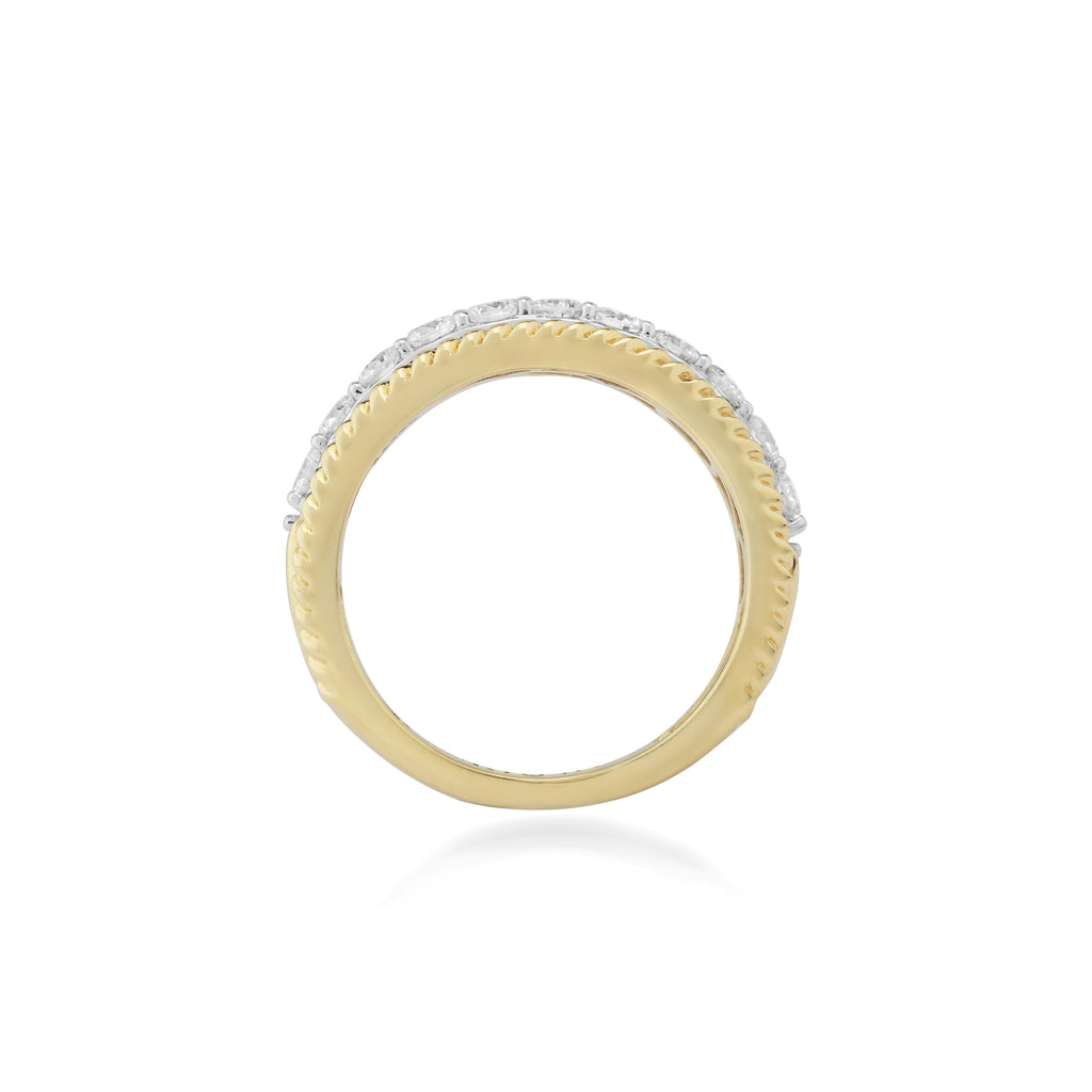 Greca Diamond Ring